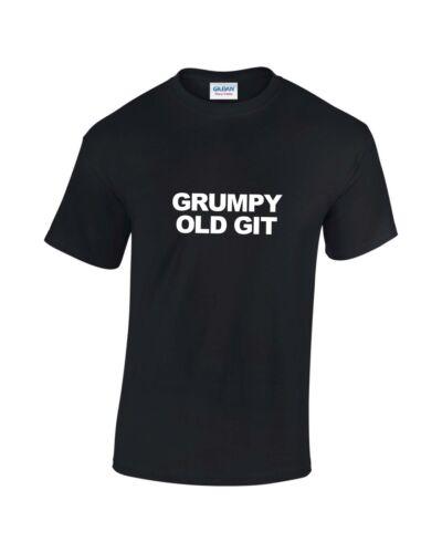 Git Vieux Grincheux Drôle Slogan T-shirt homme cadeau idéal pour fête des pères