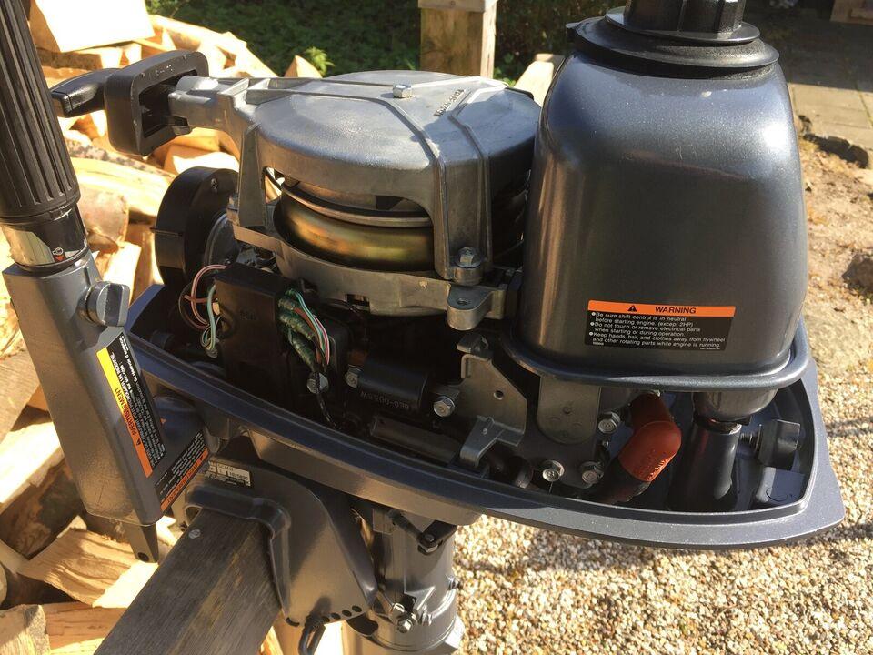 Yamaha påhængsmotor, 5 hk, benzin