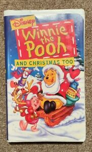 Winnie The Pooh And Christmas Too.Details About Disney S Winnie The Pooh And Christmas Too Vhs 1997 Used Vgc
