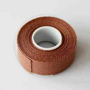 Velox-tressostar-90-Vintage-textil-lenkerband-marron-2-rollos