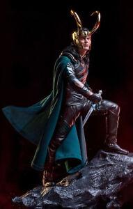 Art-1-10-Scale-Thor-Ragnarok-Loki-Statue-New-Loose-25cm