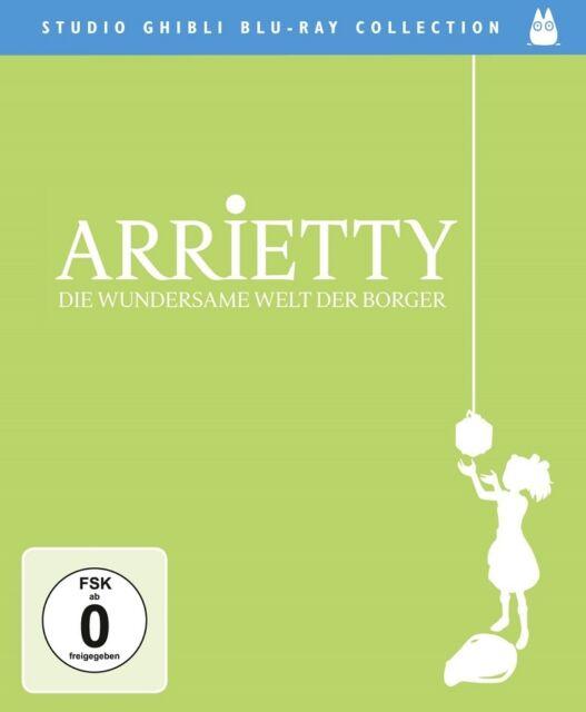 Blu-ray Arrietty - Die wundersame Welt der Borger (Studio Ghibli Collection) NEU