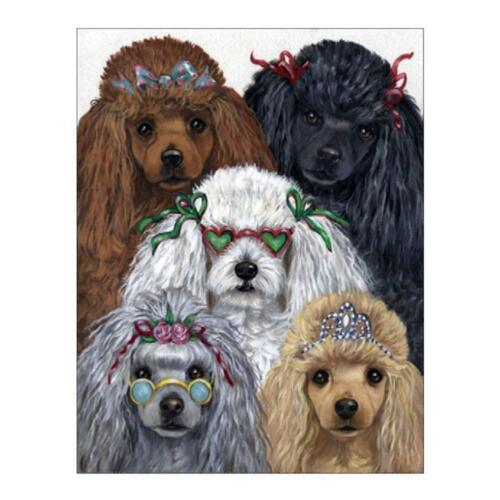 Dog Puppy 5D Diamond Painting DIY Embroidery Cross Stitch Kit Mosaic Home Decor