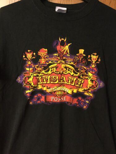 Insane Clown Posse.  Shirt.   Black.   L