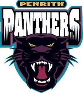 Image Is Loading  Pack Penrith Panthers Nrl Old Logo Mega