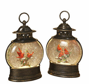 Large-Christmas-Winter-Scene-Spinning-Glitter-Water-Snow-Globe-Lanterns-Set
