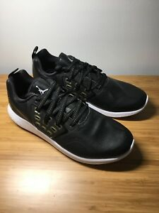 0f174c54a8ea89 Image is loading Nike-Jordan-Grind-Black-metallic-Gold-White-Aa4302-