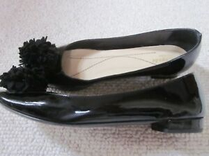 cf712341591e Women s Kate Spade Patent Leather Flats Shoes Size 7.5 Black