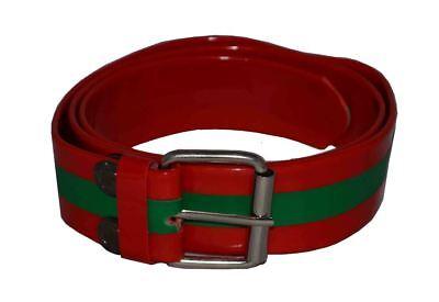 Flosay Snap on Belt White Black Green