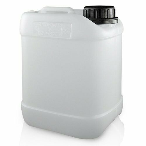 2.5L Litre Stackable Plastic Jerry Can Bottle Tamper Cap - Oil Safe UN Approved