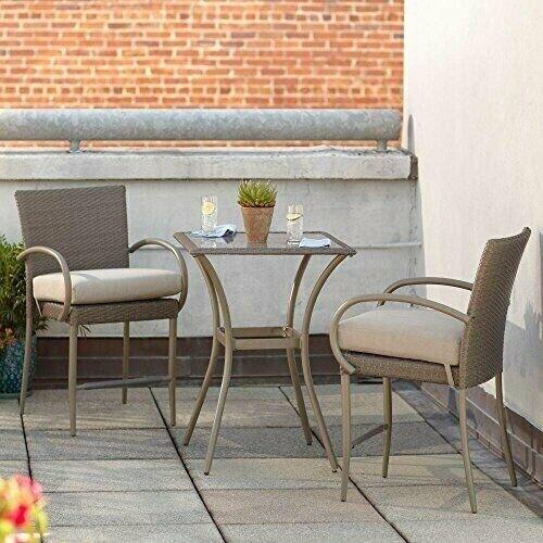 Balcony Height Patio Bistro Set