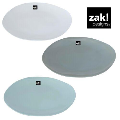 ZAK designs Fjord Teller 22 cm 3 Farben optimal für BBQ Camping Outdoor Party