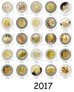 2-euro-2017-piece-commemorative-tous-les-pays-Disponible-unz