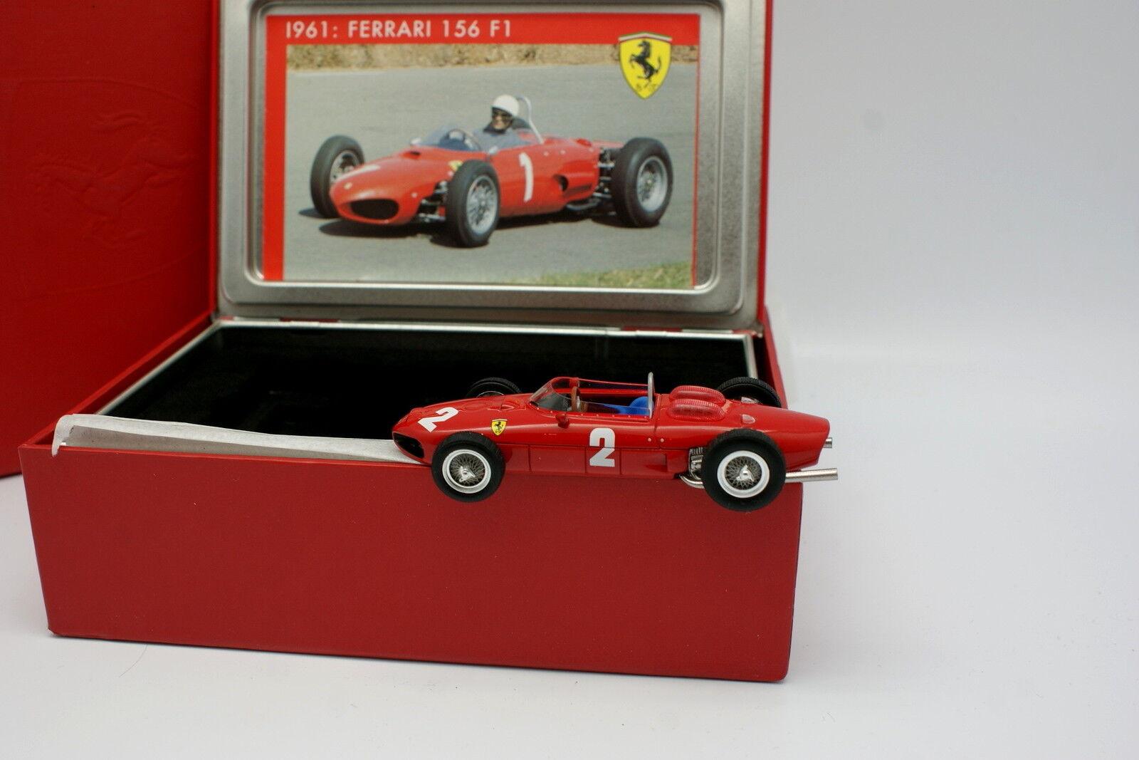 Hot wheels die storia 1   43 - formel - 1 - ferrari 156 1961