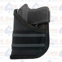 Wallet Pocket Holster For Ruger Lcp Concealed Carry 100% Made In U.s.a.
