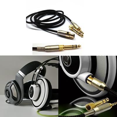 Câble de câble amélioré pour casque AKG Q701 K702 K267 K712 Reloop RHP20   eBay