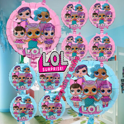 LOL SURPRISE DOLL TOY FOIL BALLOON balloons BIRTHDAY PARTY LATEX