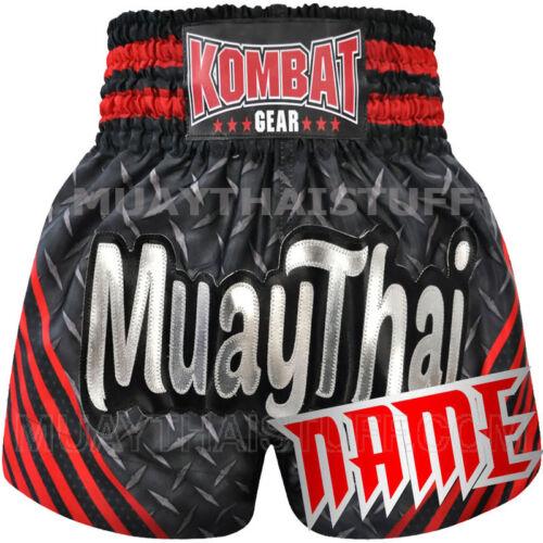 Kombat Personalize Muay Thai Kick Boxing Shorts KS6A Customize Free Add Name MMA