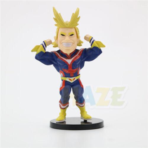 9pcs My Hero Academia Todoroki Shouto All Might 8-10cm PVC Figure Toy Collection