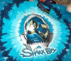 Diskret Shark Boy wwe Wrestling-t-shirt gr.xl Neu,lizenz,rarität