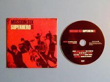 Mission Six ~ Superhero DVD In Sleeve ~ Christian Rock / Pop ~ Rare