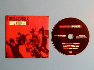 Mission-Six-Superhero-DVD-In-Sleeve-Christian-Rock-Pop-Guaranteed-Rare