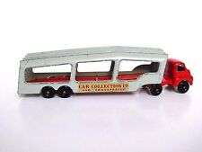Matchbox Lesney A-2a Bedford S Type Car Transporter (RARE RED/GREY!!)