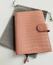 Moterm A5 Pink Croc Leather Cover