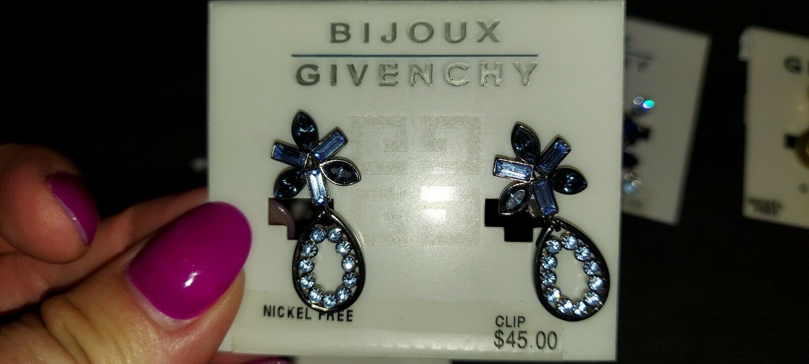 givenchy clip earrings - image 4