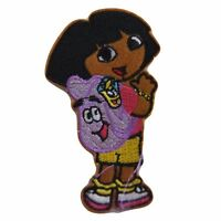 Dora The Explorer With Backpack Embroidered Patch
