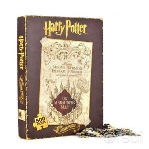 Nouveau-Harry-Potter-Marauder-039-s-Map-Puzzle-500-Pieces-Marauders-Officel