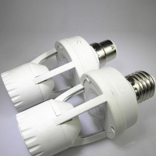 Screw Light Bulb Holder LED PIR Infrared Motion Sensor Lamp Switch Socket