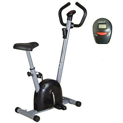 EXERCISE BIKE - CARDIO FITNESS WORKOUT MACHINE-REFURBISHED-12 MONTH WARRANTY