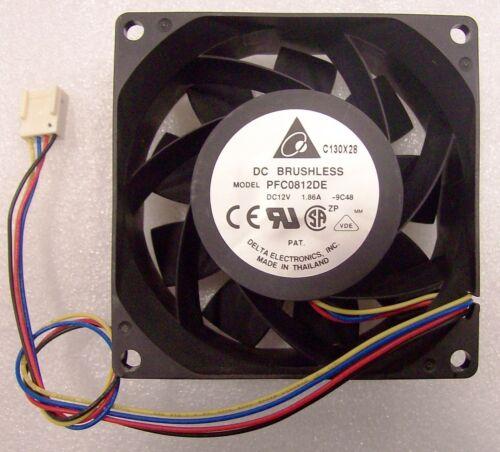 Intel FSR2612FAN PFC0812DE 9000RPM 80X38mm New Bulk Packaging