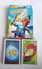 UNO Playing Cards Game CHIMA Sealed New Lego legends of Chima