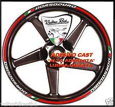 adesivi per ruote moto dorsoduro tricolore strips wheels dorsoduro
