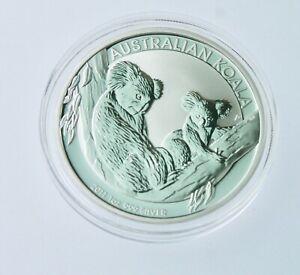 Australia 2011 p Koala $1 1 Oz .999 Pure Silver BU PERTH MINT IN CAP