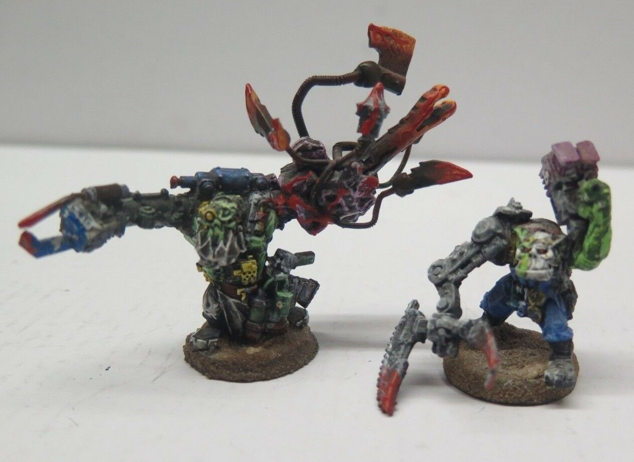 GW WARHAMMER 40K Metal ORK Mad Dok Gredsnik + Experiment  Pro Painted