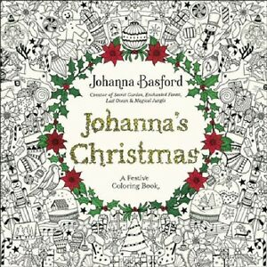 Image Is Loading Johanna 039 S Christmas A Festive Coloring Book