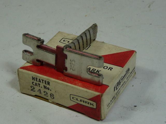Clark AO Smith Overload Heater 2426 New Relay Thermal Unit Sylvania