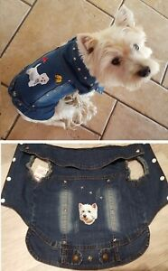 Manteau-blouson-jeans-customise-petits-et-moyens-chiens-taille-L-XL-XXL