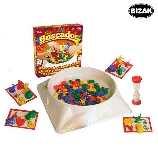 Juguete juego de mesa Buscador Bizak,divertida busca frenética, niños, regalo