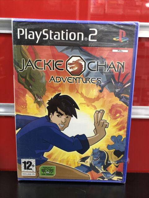 Jackie Chan Adventures / PS2 PlayStation 2 / NEUF SOUS BLISTER OFFICIEL / VF