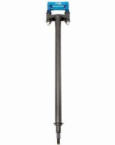 """LTR 450  Steering Stem 2/""""  Chromoly Black 7//8 Bar Clamp  Blue  694 BL"""
