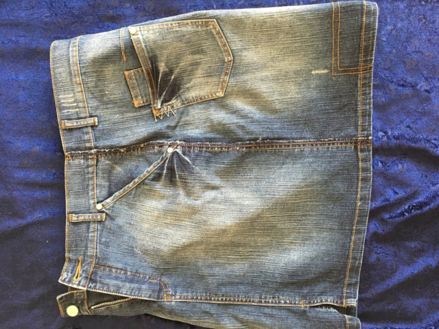 Cowboynederdel, str. 40, Next,  Stone washed,  Denim,…