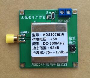AD8307-Module-wideband-RF-detector-RF-power-meter-ALC-AGC-Strength-Meter