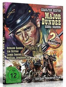 Mediabook-Major-Dundee-Sierra-Charriba-Charlton-Heston-Limited-2-Blu-Ray-Nuevo