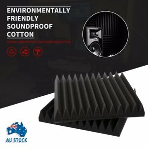 30X30CM Acoustic Foam Penels Tiles Studio Home Adhesive ...
