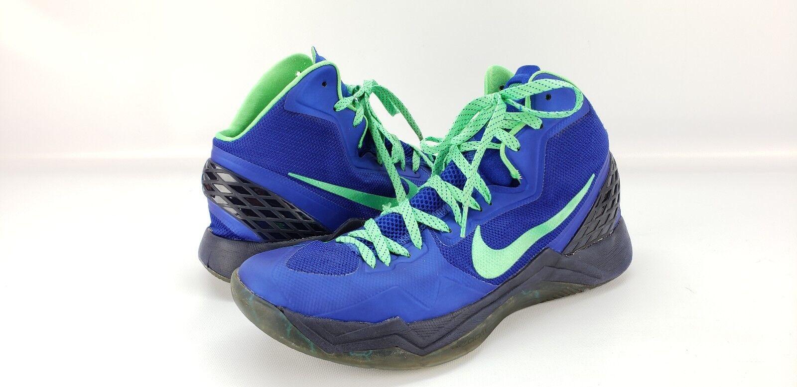 Nike Zoom Hyperdisruptor Men's bluee Green Basketball shoes Size 12