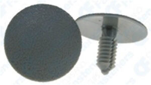 10 Headliner Clip Head Liner Retainer Gray Nylon Rivet A 17381 N805315 For Ford